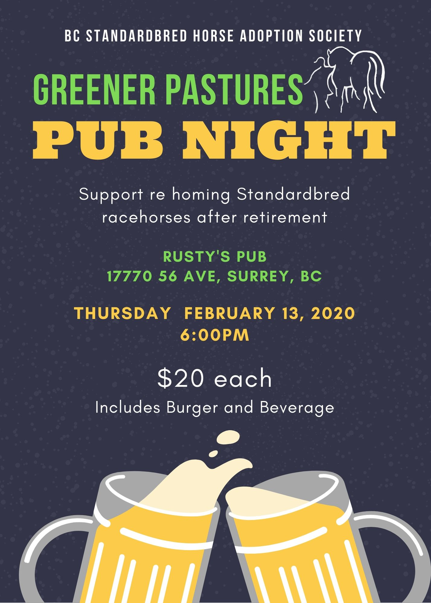 Pub Night Feb 2020